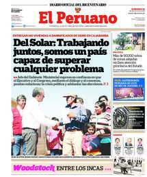 Diario Oficial El Peruano