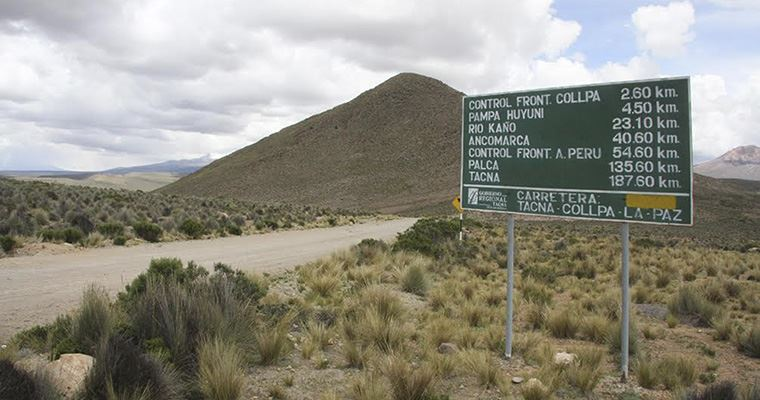 ba76134f3 Ejecutarán proyecto vial de integración Tacna -La Paz