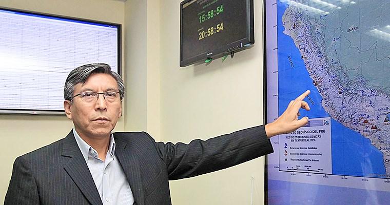 Sismos: IGP colocó sensores de alerta temprana en San Lorenzo