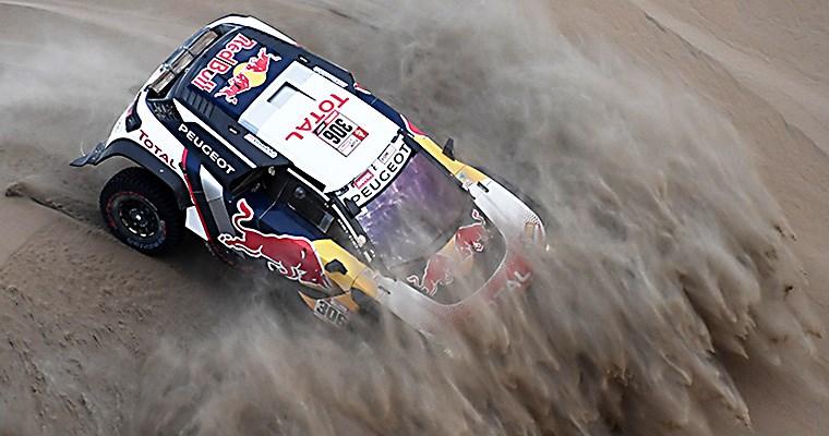 Dakar 2018 - Etapa 4: revolcón en Autos y Motos!