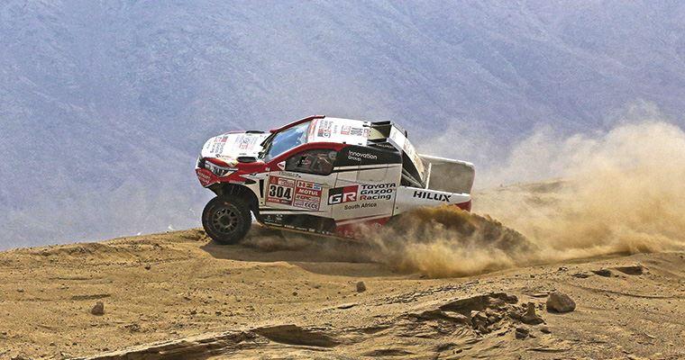 Rally Dakar: Quintanilla remata sexto en la segunda etapa