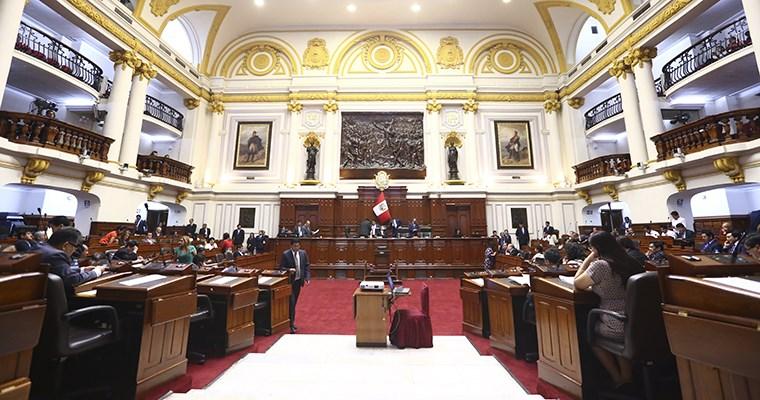 Congreso aprobó ley que impide postulación de sentenciados por terrorismo