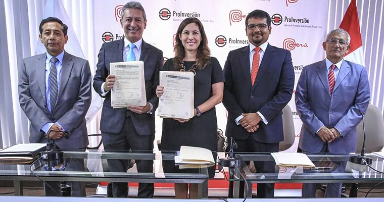 Pro Inversión entrega proyectos eléctricos por US$272 mlls
