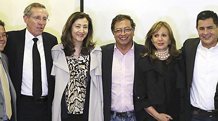 Claudia López y Antanas Mockus anuncian su voto por Gustavo Petro