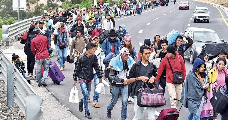 Resultado de imagen para migracion venezuela -colombia