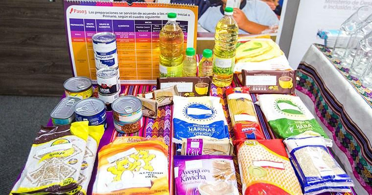Qali Warma mejora servicio alimentario escolar del 2019