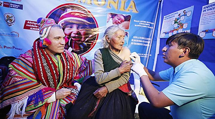 Región Cusco. Del Solar puso en marcha Operación Abrigo.