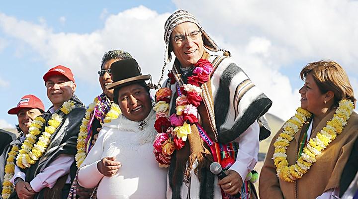 Acción conjunta. Operación Abrigo permitirá enfrentar de manera adecuada el frío extremo que afecta a las zonas del sur andino, sostuvo el presidente Vizcarra.