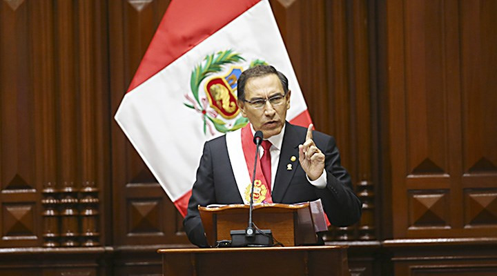 Martín Vizcarra propone adelantar elecciones de Presidente y congresistas al 2020
