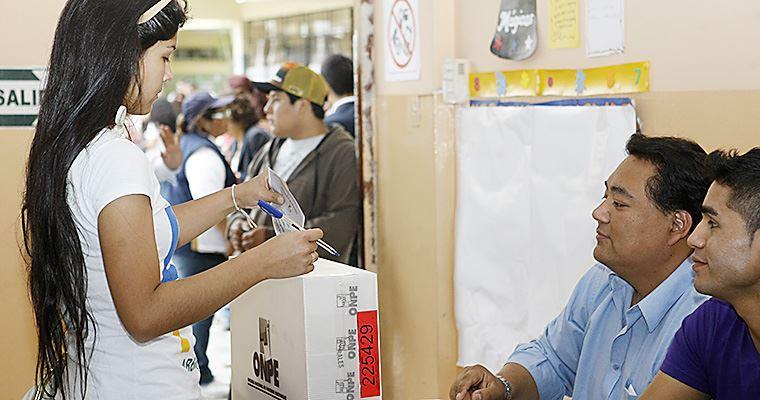 Cerca de 10 millones de electores sufragarán en Lima y Callao - El Peruano