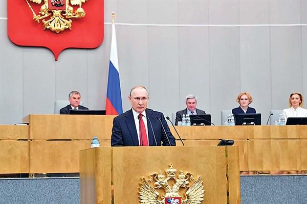¿Un Putin eterno? La Duma lo habilita a gobernar hasta 2036