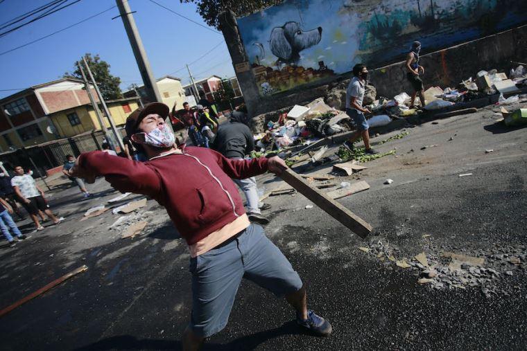 Pandemia despierta las protestas en Chile