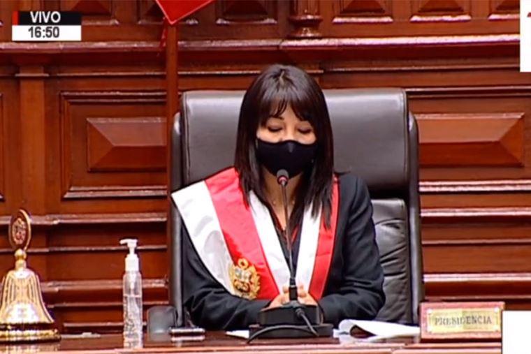 Resultado de imagen para PRESIDENTA DEL CONGRESO MIRTHA VASQUEZ