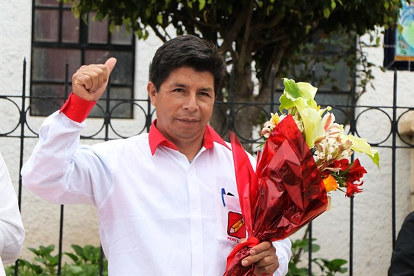 "Pedro Castillo Terrones: ""Haremos la segunda reforma agraria"""